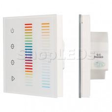 Панель Sens SR-2834-5C-AC-RF-IN White (220V,RGB+CCT,1 зона)