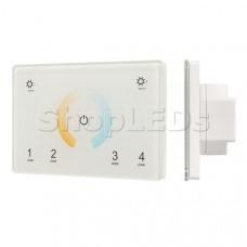 Панель Sens SMART-P81-MIX White (230V, 4 зоны, 2.4G)