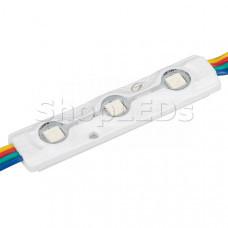 Модуль герметичный ARL-ORION-R07-12V RGB (5050, 3 LED)