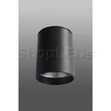 Накладной светодиодный светильник DM-171 (15W, 4100K, 80*100, черный корпус)