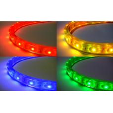 Герметичная светодиодная лента SMD 5050 60LED/m IP68 12V RGB